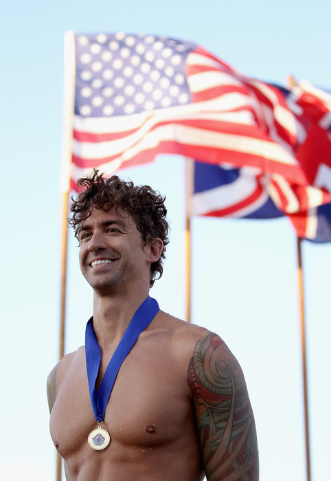 Anthony Ervin (USA)'s 50 Free Final will be a part of the NBC primetime coverage.