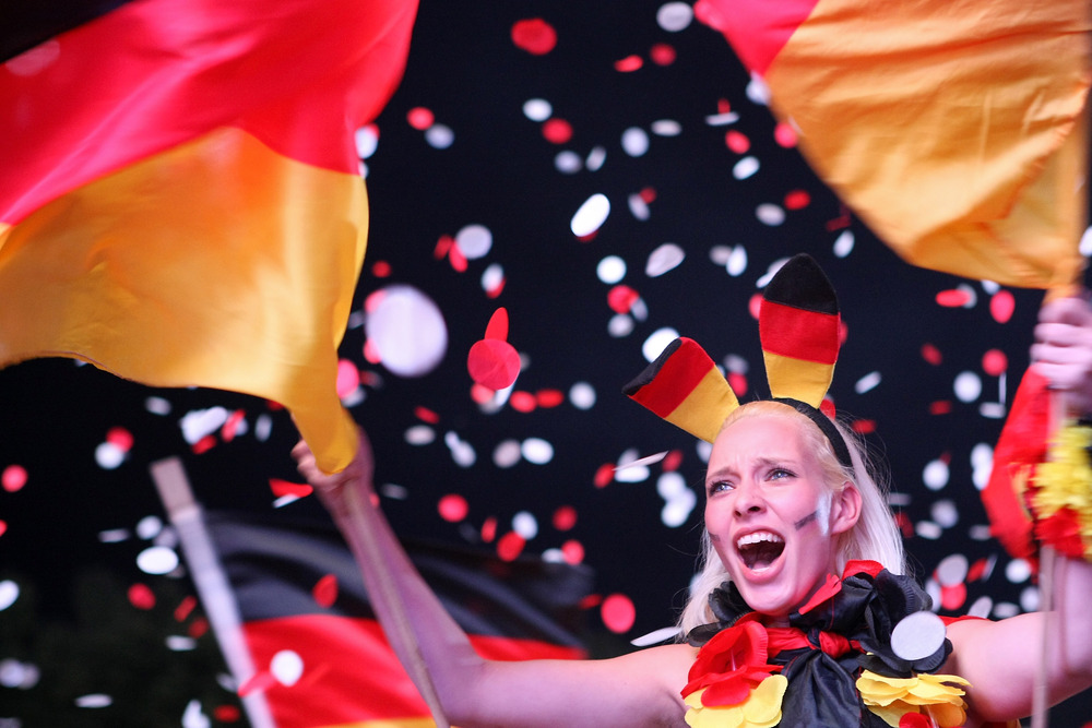 The Germans are coming!  (Photo by Adam Berry/Getty Images)