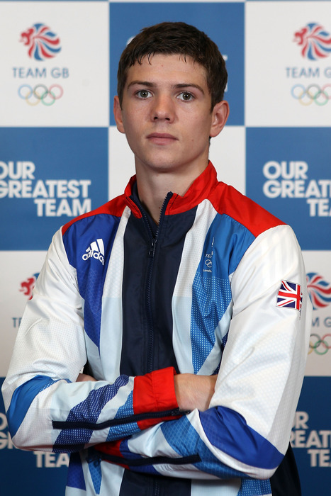 Bantamweight Luke Campbell is the first of three members of Team Great Britain who will go for a gold medal in London. (Photo by Clive Rose/Getty Images)