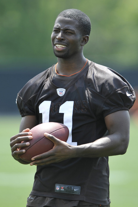 WR Mohamed Massaquoi is currently slated to start alongside Greg Little, but how long will that last?