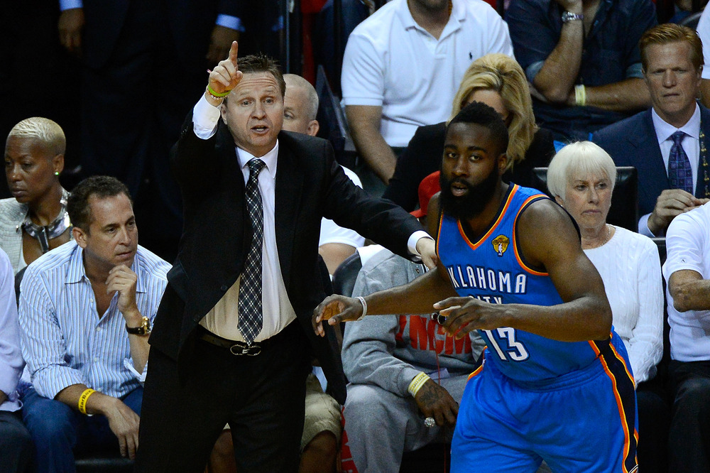 Probably the Thunder's two biggest question marks heading into draft day.