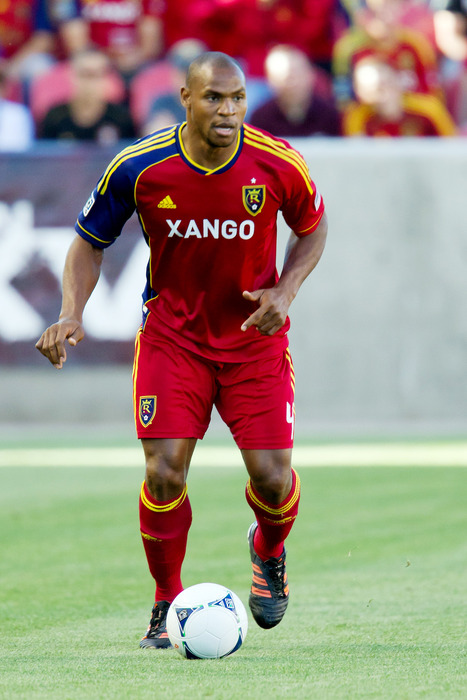 Guess who is back?  Yes Jamison Olave returned to action in RSL's reserve match, his first action in over a month. Mandatory Credit: Russ Isabella-US PRESSWIRE