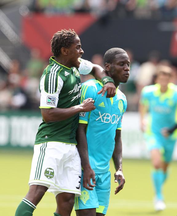 Eddie Johnson has taken MLS by surprise, much like Lovel Palmer took him by surprise back in June.