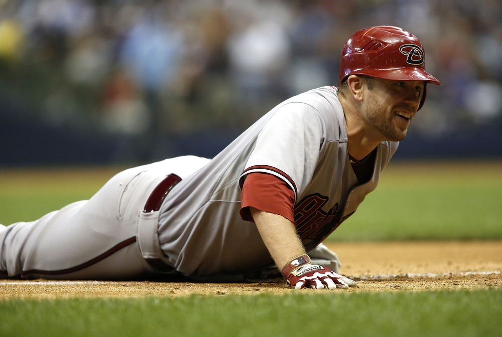 Aaron Hill's impression of a seal made him the life of any party.