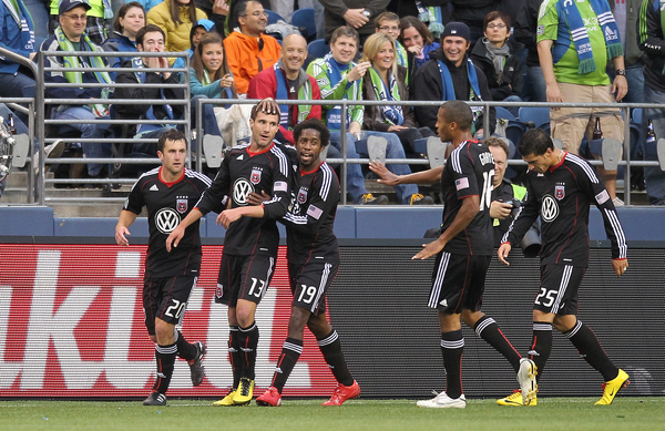 SEATTLE - JUNE 10: Clyde Simms, #19 of D.C. United is deserving of our appreciation D.C.