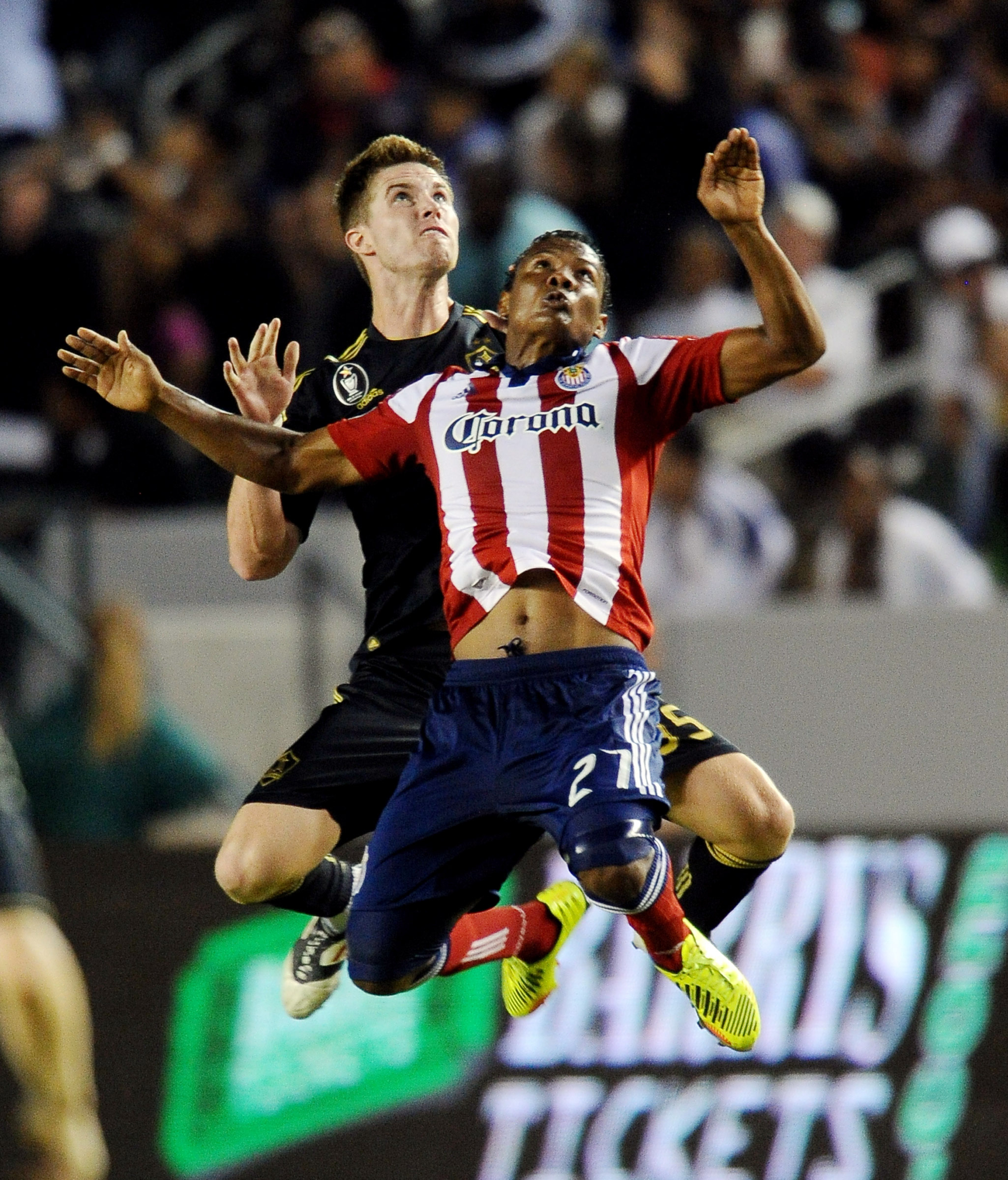 July 21, 2012; Los Angeles, CA, USA; Correa set up Townsend Friday for the reserves.  Mandatory Credit: Jayne Kamin-Oncea-US PRESSWIRE