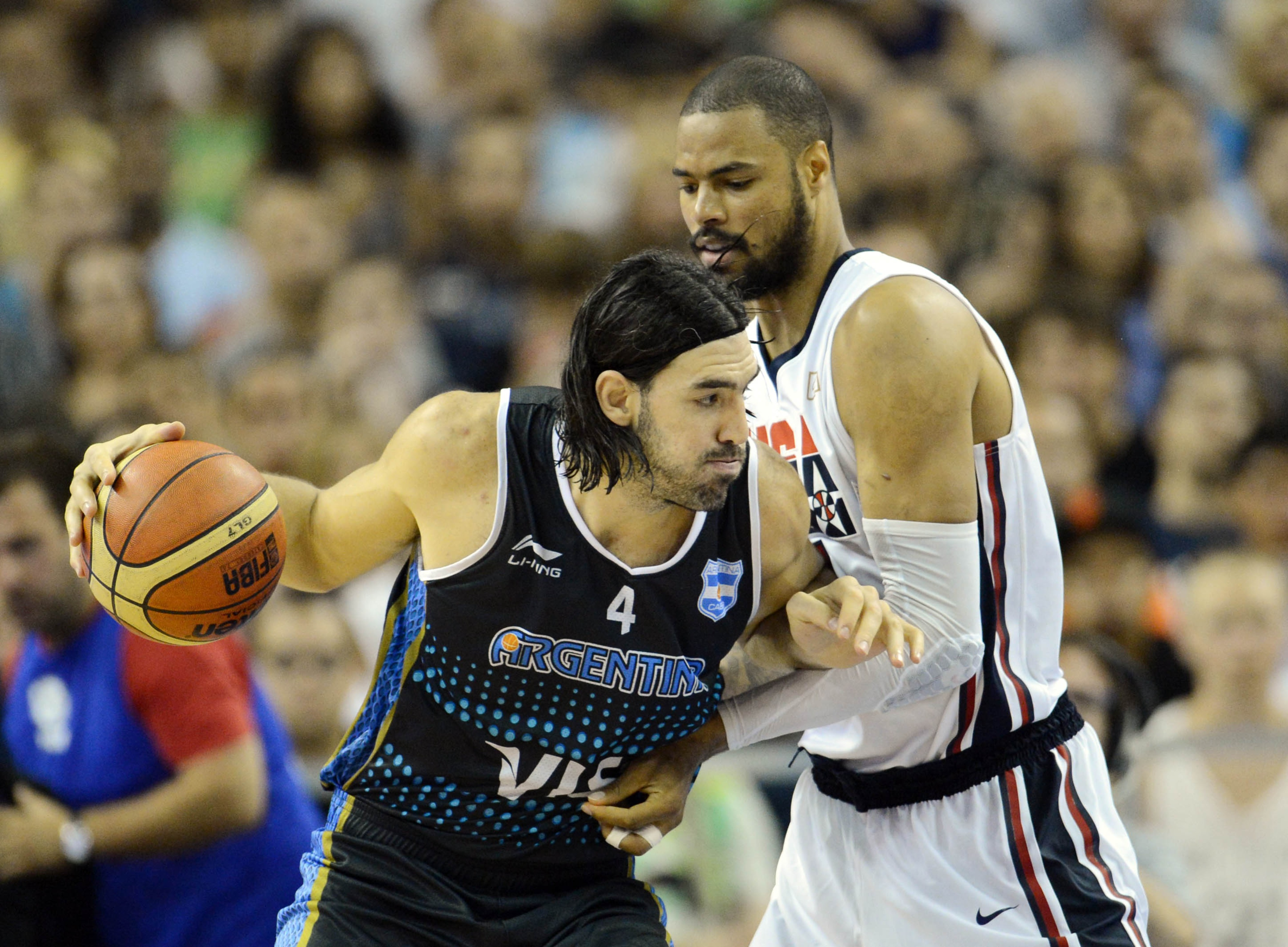 Luis Scola's post scoring will be one of the keys for the Argentine team Mandatory Credit: Jerry Lai-US PRESSWIRE