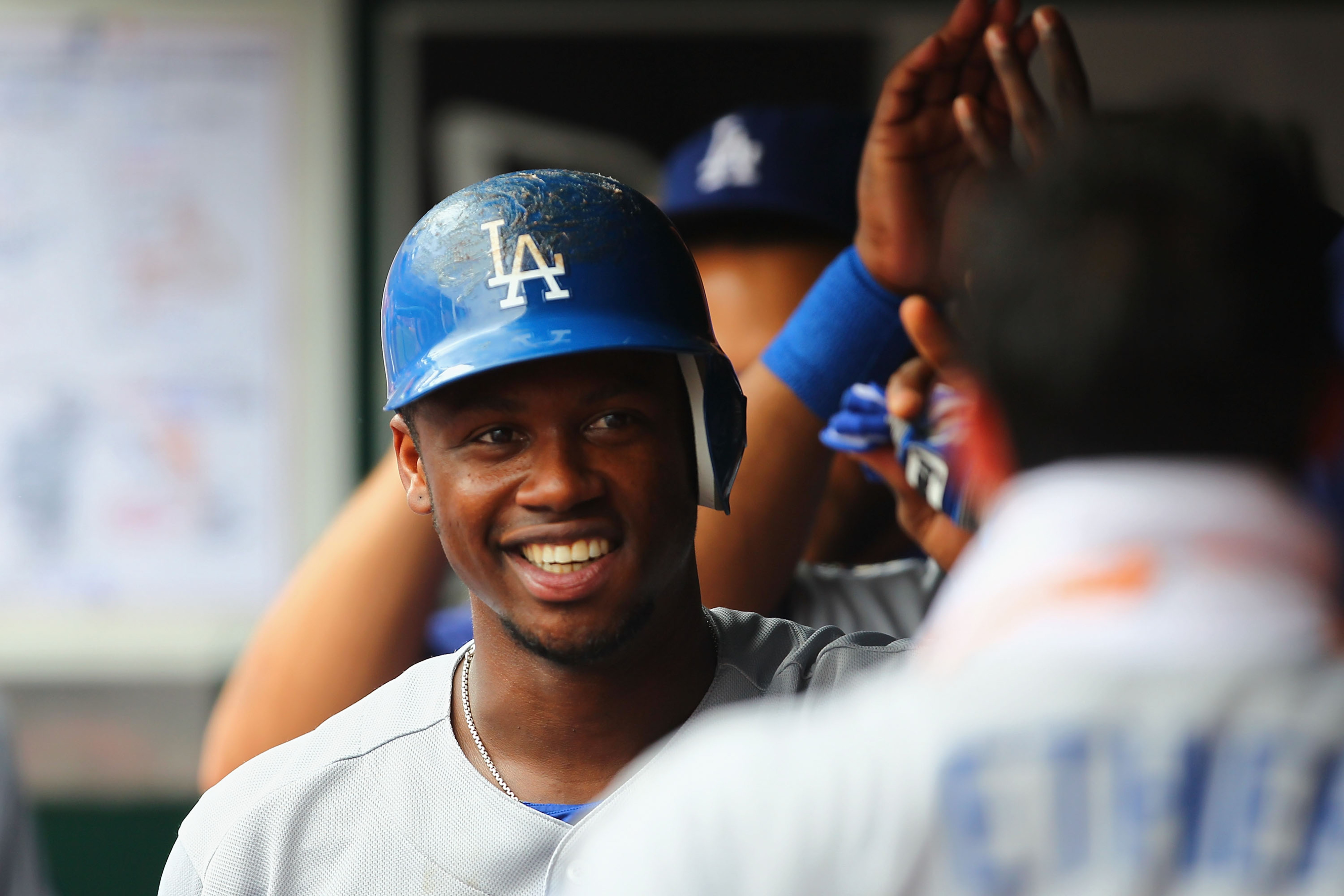 Hanley Ramirez has been all smiles since joining the Dodgers. Will that translate into wins this weekend in San Francisco?