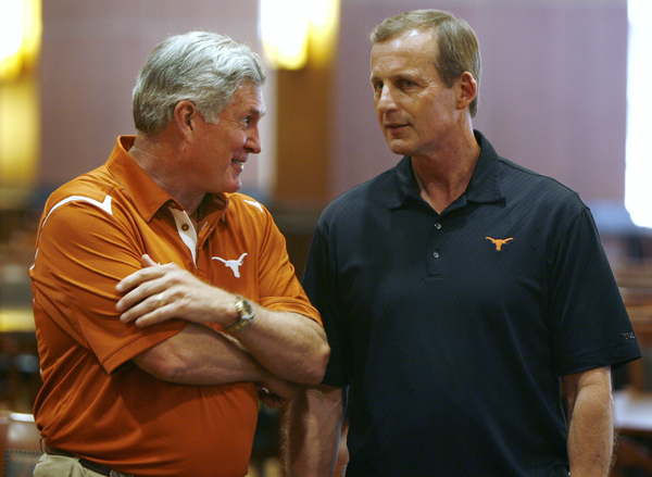 Will Mack Brown's success ultimately shorten Rick Barnes time at Texas?