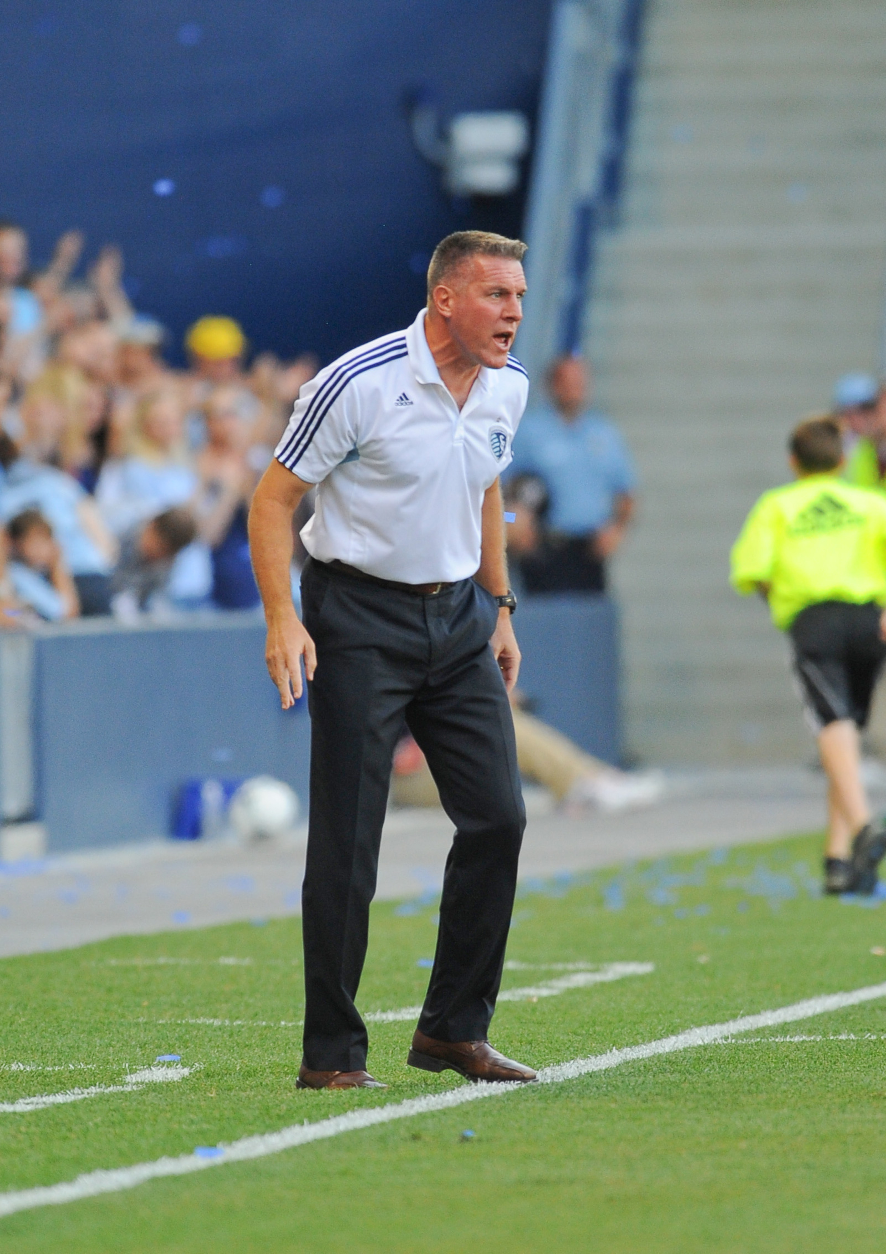 July 28, 2012; Brock Lesnar does not panic, nor should you. Wait, why is Brock Lesnar coaching our soccer team? Mandatory Credit: Denny Medley-US PRESSWIRE