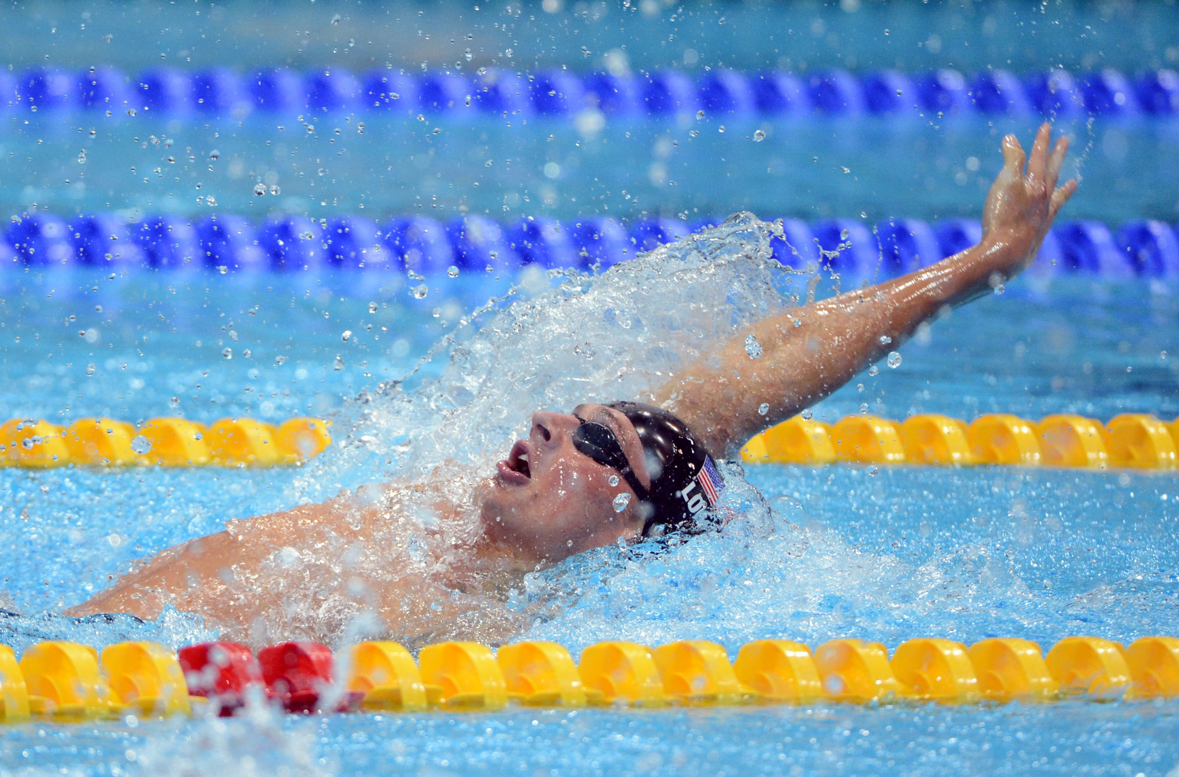 Florida's Ryan Lochte won his fourth and fifth medals today.