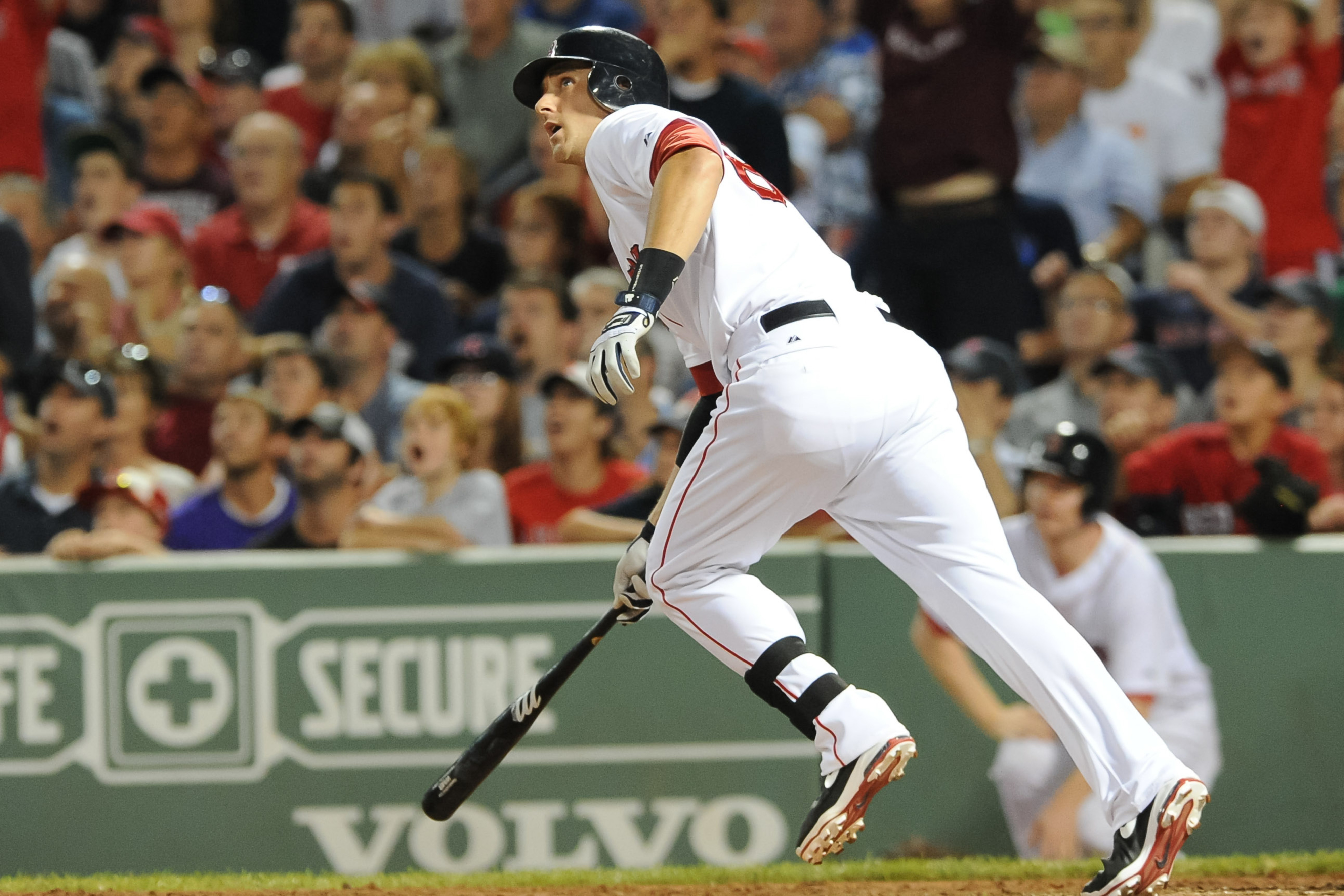 Who will be replacing most of Will Middlebrooks' playing time at third base for the rest of 2012? (Mandatory Credit: Bob DeChiara-US PRESSWIRE)