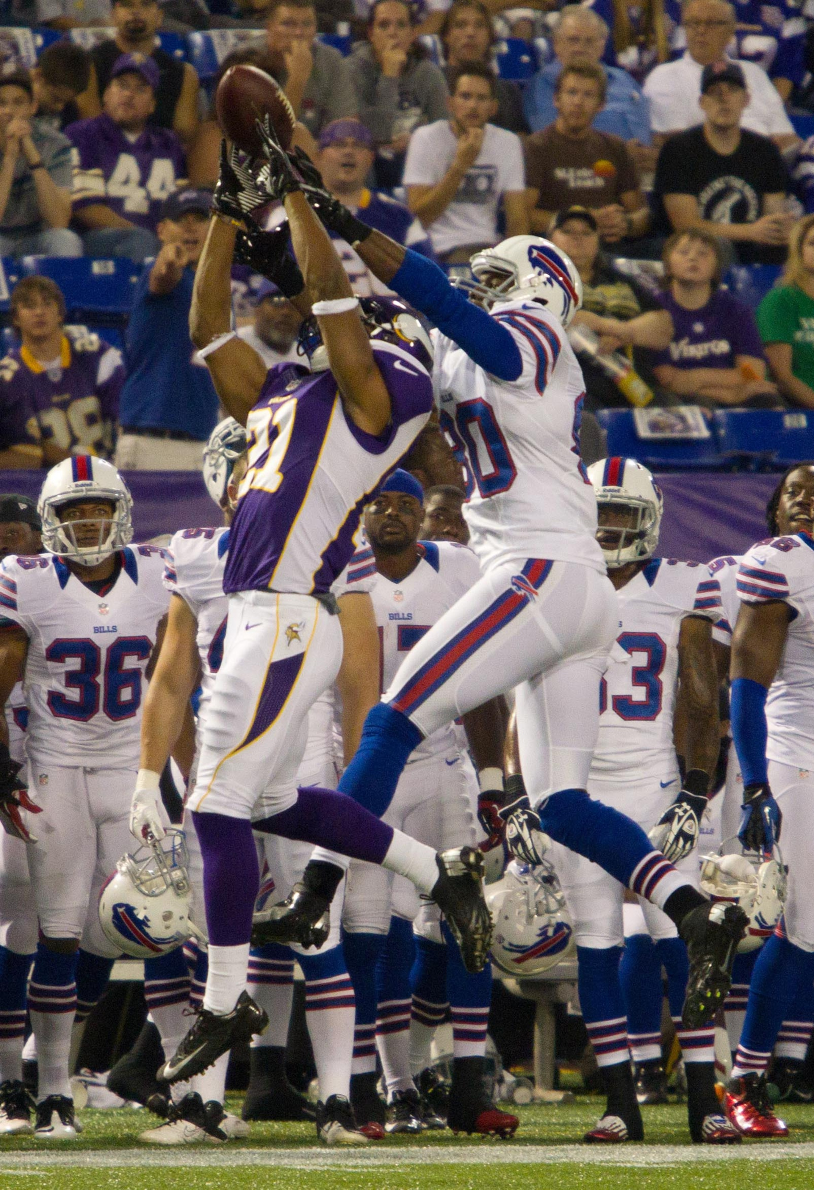The Minnesota Vikings will likely need big improvement in the secondary to be competitive in 2012, and rookie Josh Robinson will play a part in that. (Mandatory Credit: Brad Rempel-US PRESSWIRE)