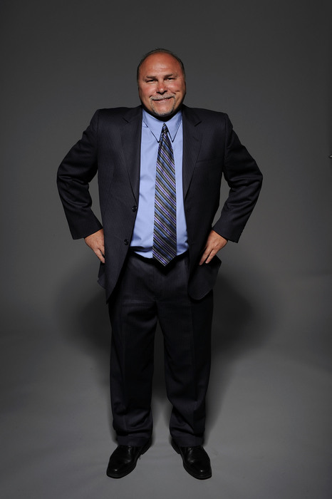 LAS VEGAS - JUNE 23:  Barry Trotz of the Nashville Predators poses for a portrait during the 2010 NHL Awards at the Palms Casino Resort on June 23, 2010 in Las Vegas, Nevada.  (Photo by Harry How/Getty Images)