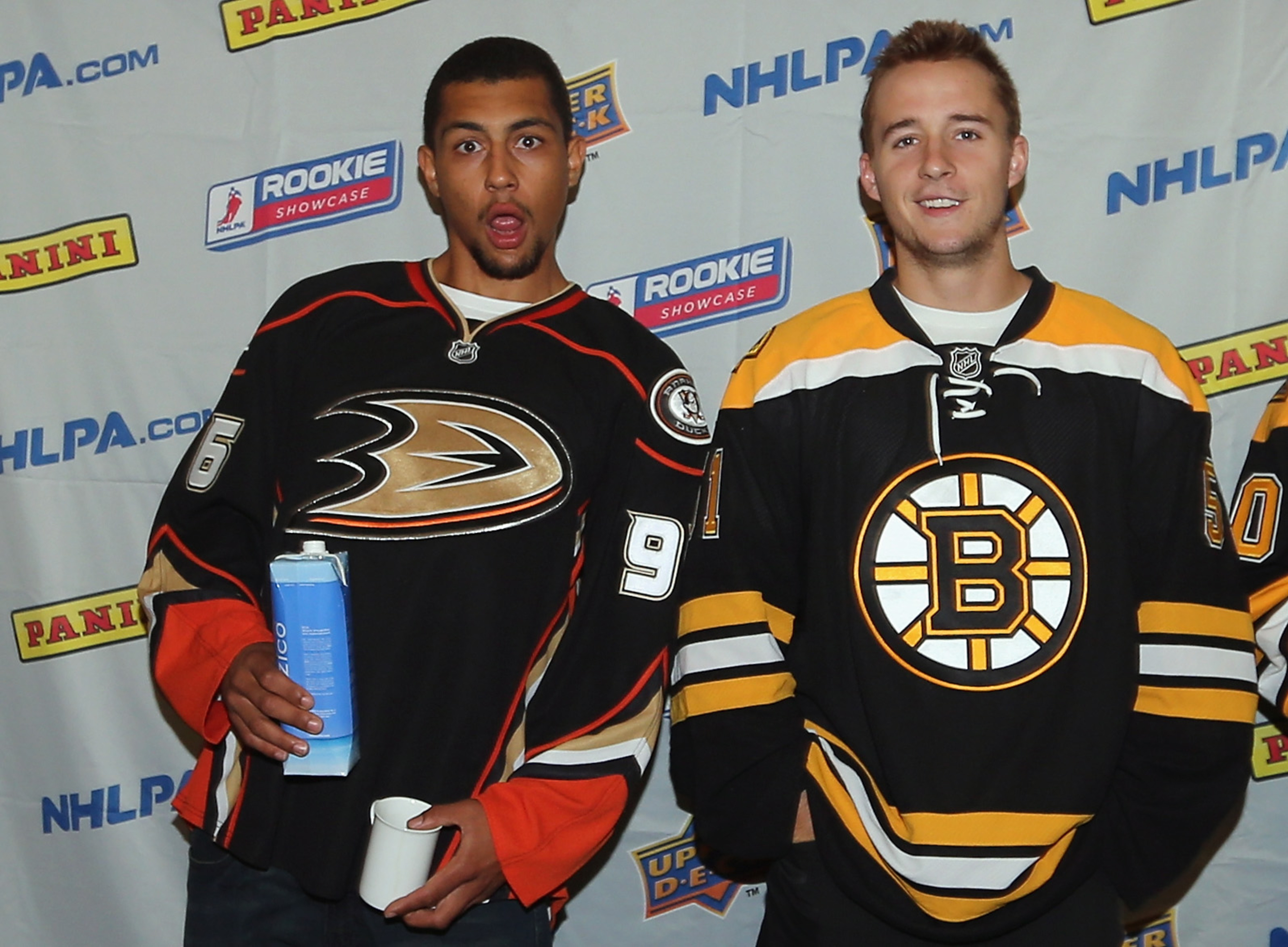 This picture has nothing to do with the post. I just enjoy Emerson Etem  giving the camera 'Magnum' while holding his coconut water like a gangsta.
