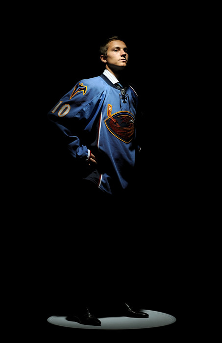 Alexander Burmistrov tops just about everybody's list of Thrashers prospects. After that, it gets much harder.