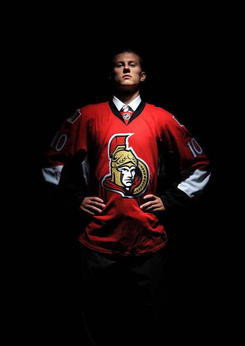 LOS ANGELES, CA - JUNE 26:  Jakub Culek, drafted in the third round by the Ottawa Senators, poses for a portrait during the 2010 NHL Entry Draft at Staples Center on June 26, 2010 in Los Angeles, California.  (Photo by Harry How/Getty Images)