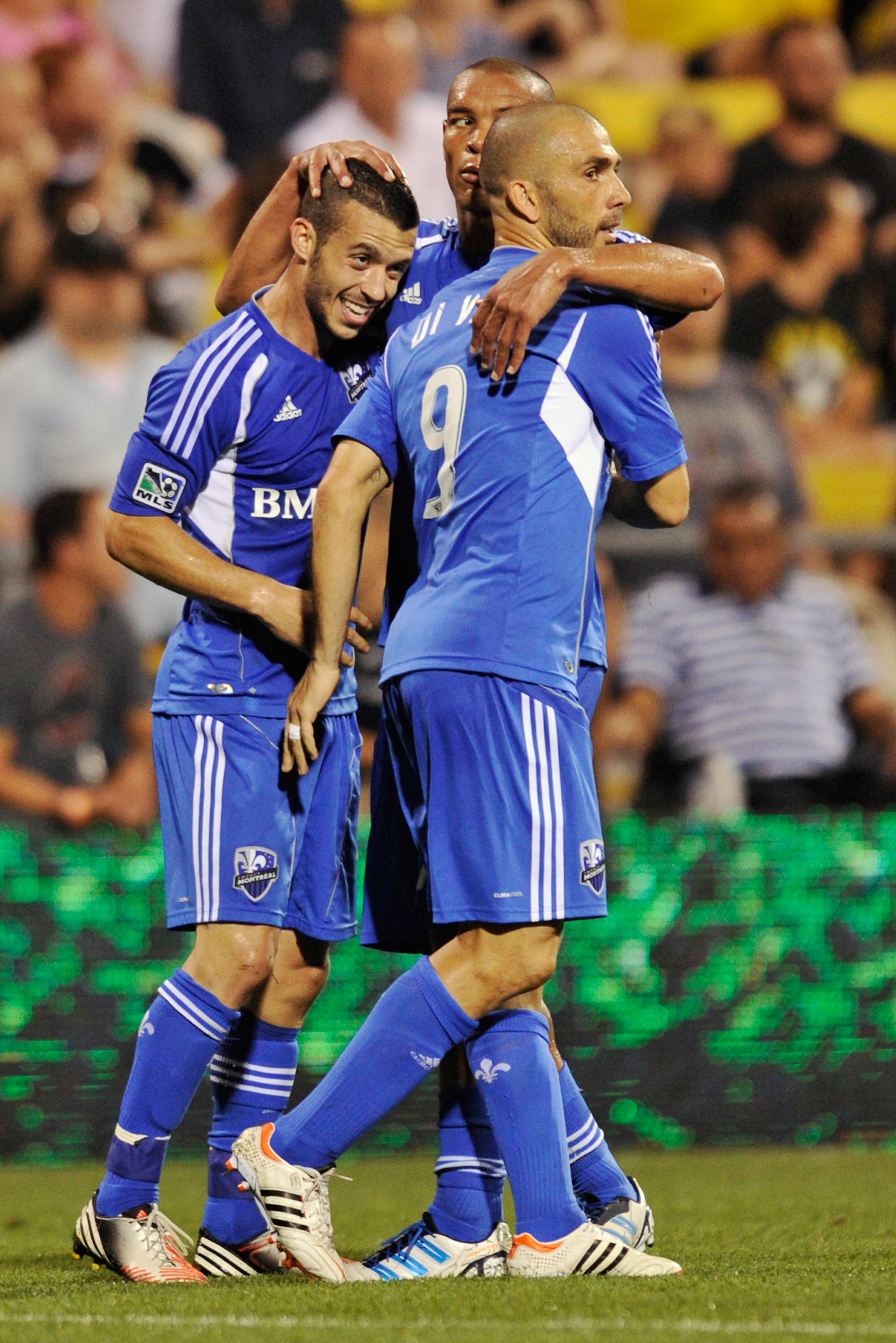 Will Felipe Martins #7, Marco Di Vaio #9 and Matteo Ferrari #13 earn their invitation to the MLS playoffs? (Photo by Jamie Sabau/Getty Images)