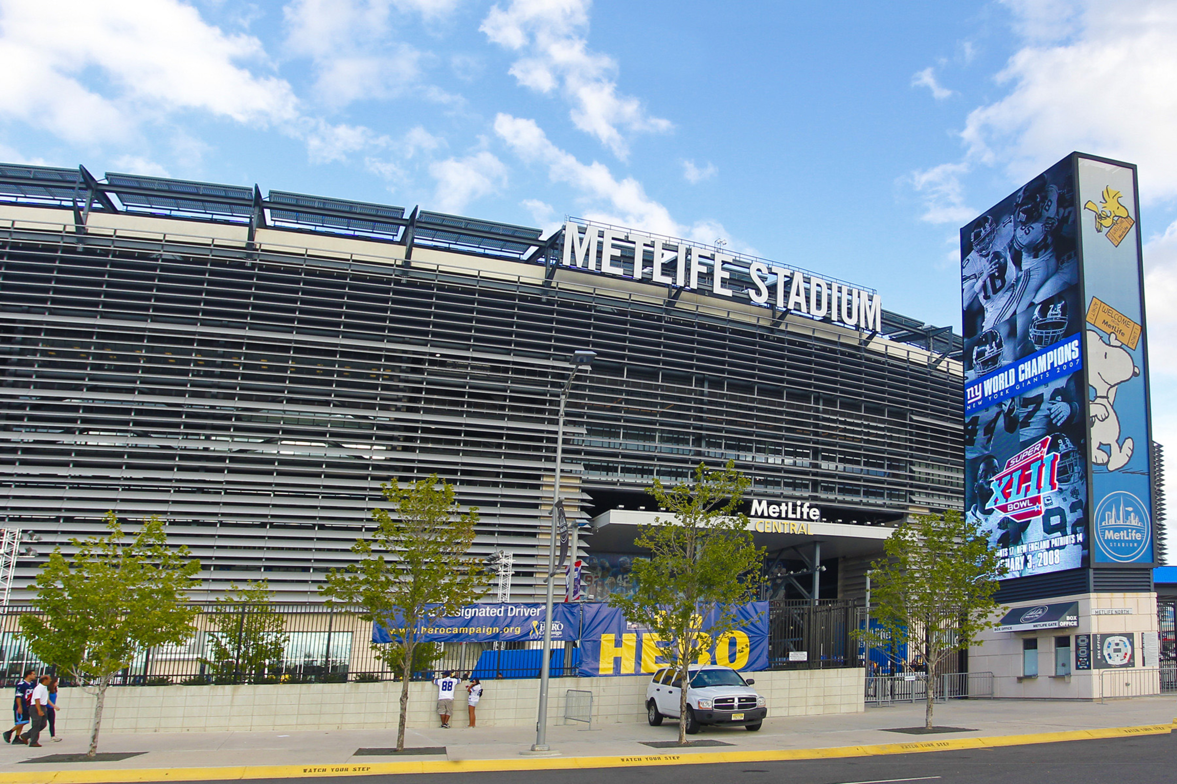 Sep 5, 2012; East Rutherford, NJ, USA;  A general view of MetLife Stadium prior to the NFL season opening game between the New York Giants and the Dallas Cowboys. Mandatory Credit: Jim O'Connor-US PRESSWIRE