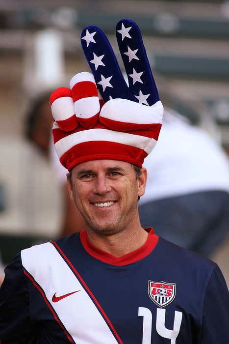 This guy knows what Independence Day is about.  (Photo by Jeff Golden/Getty Images)