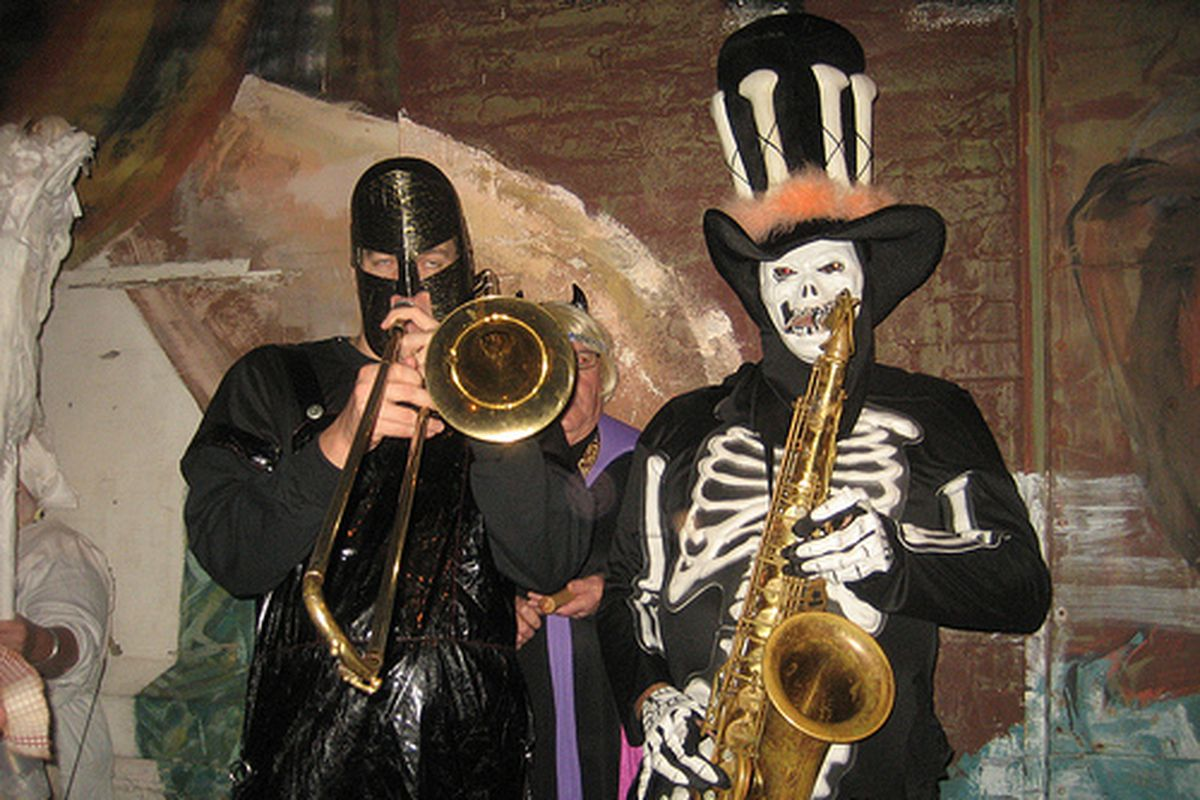 Halloween in New Orleans, 2009.