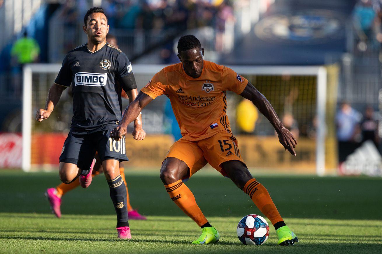 Houston Dynamo end road trip with a loss to the Philadelphia Union