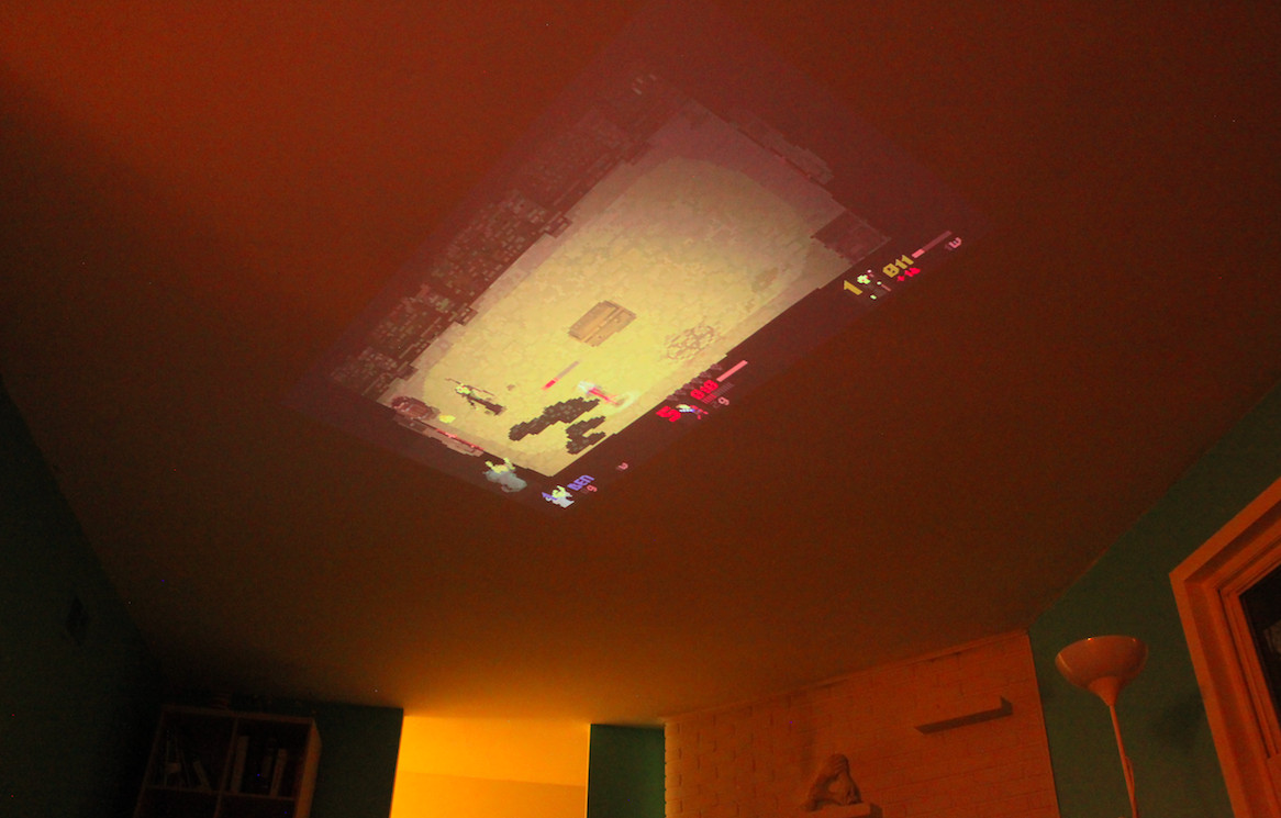 projected ceiling