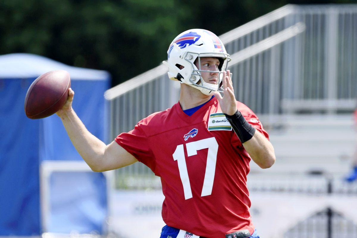 NFL: Buffalo Bills-Training Camp