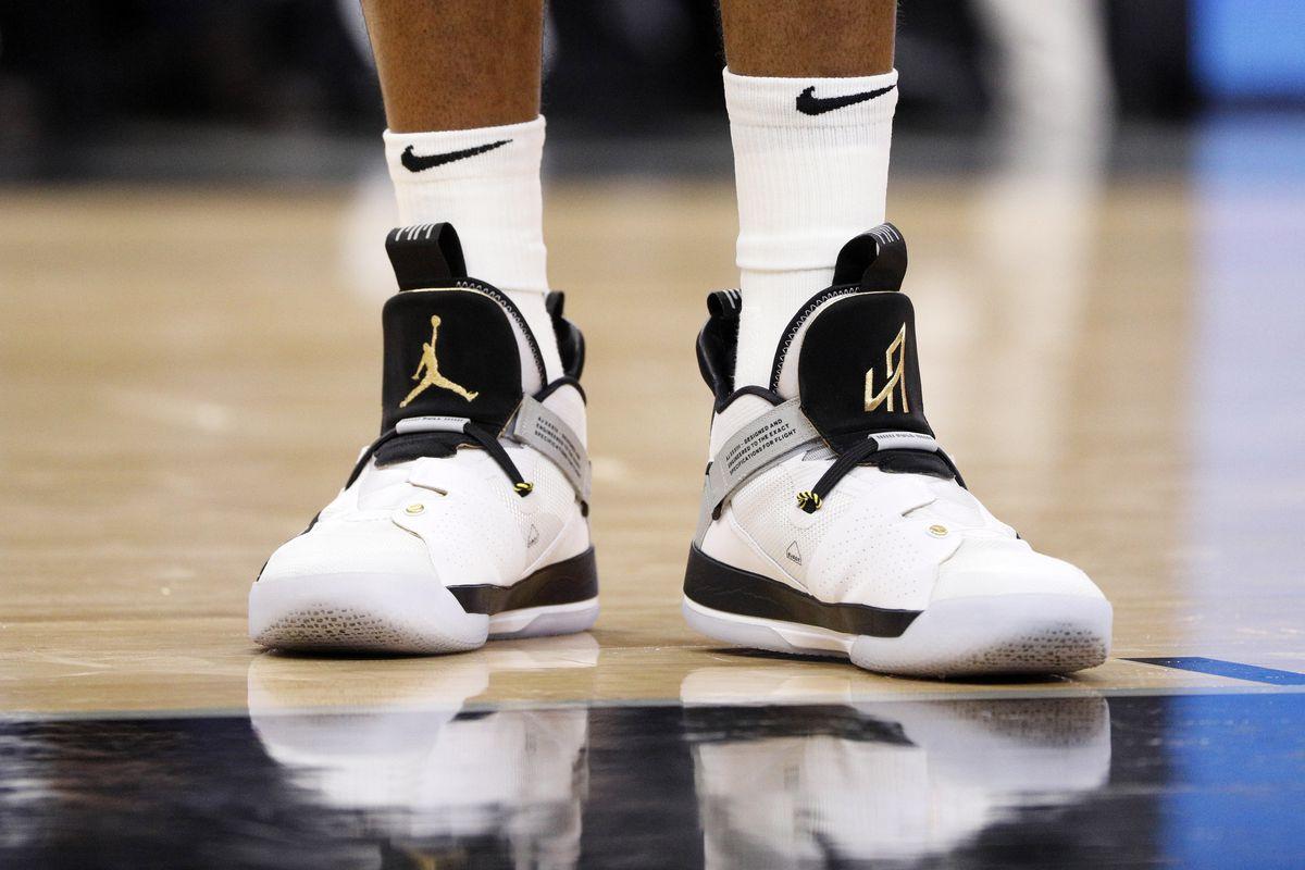 Spurs  Sneaker Spotlight  LaMarcus Aldridge s Air Jordan 33 ... c5a8d24b3
