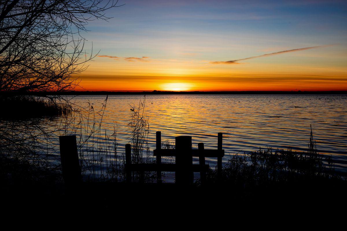 Sunrise at Steinhuder Meer