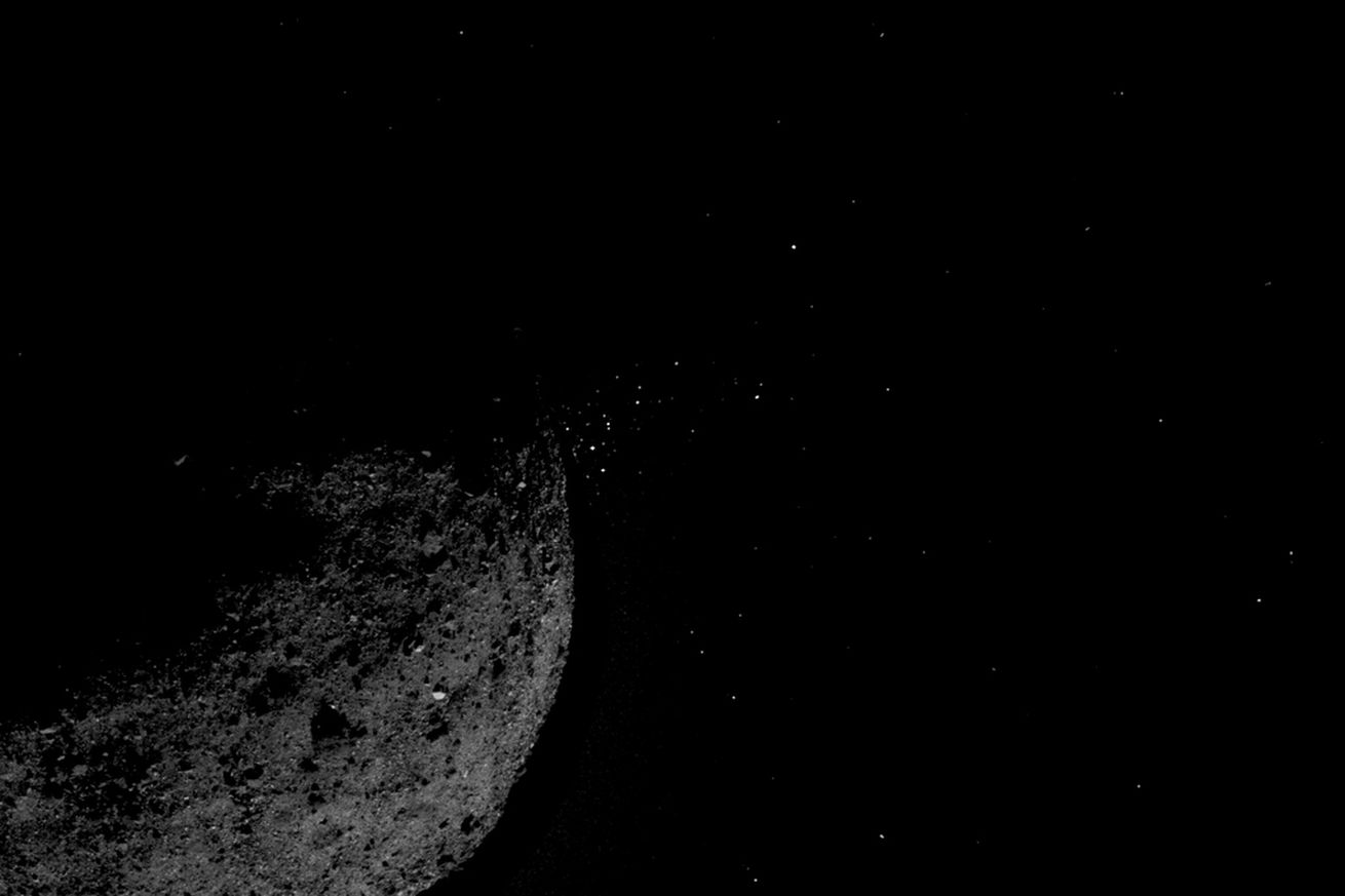NASA spacecraft discovers its target asteroid is spewing material and is much more rugged than expected
