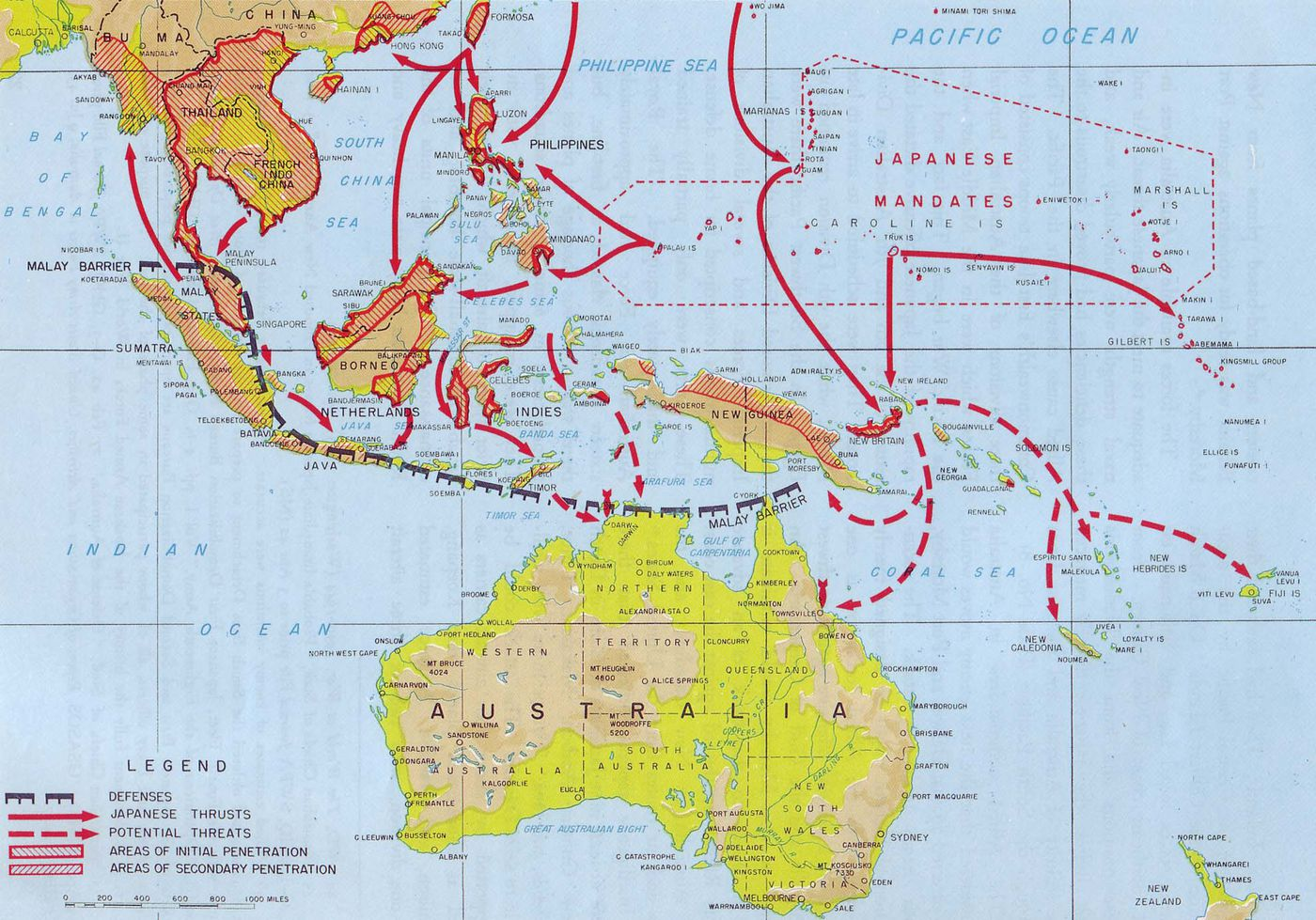 Map Of Asia After Ww2.42 Maps That Explain World War Ii Vox