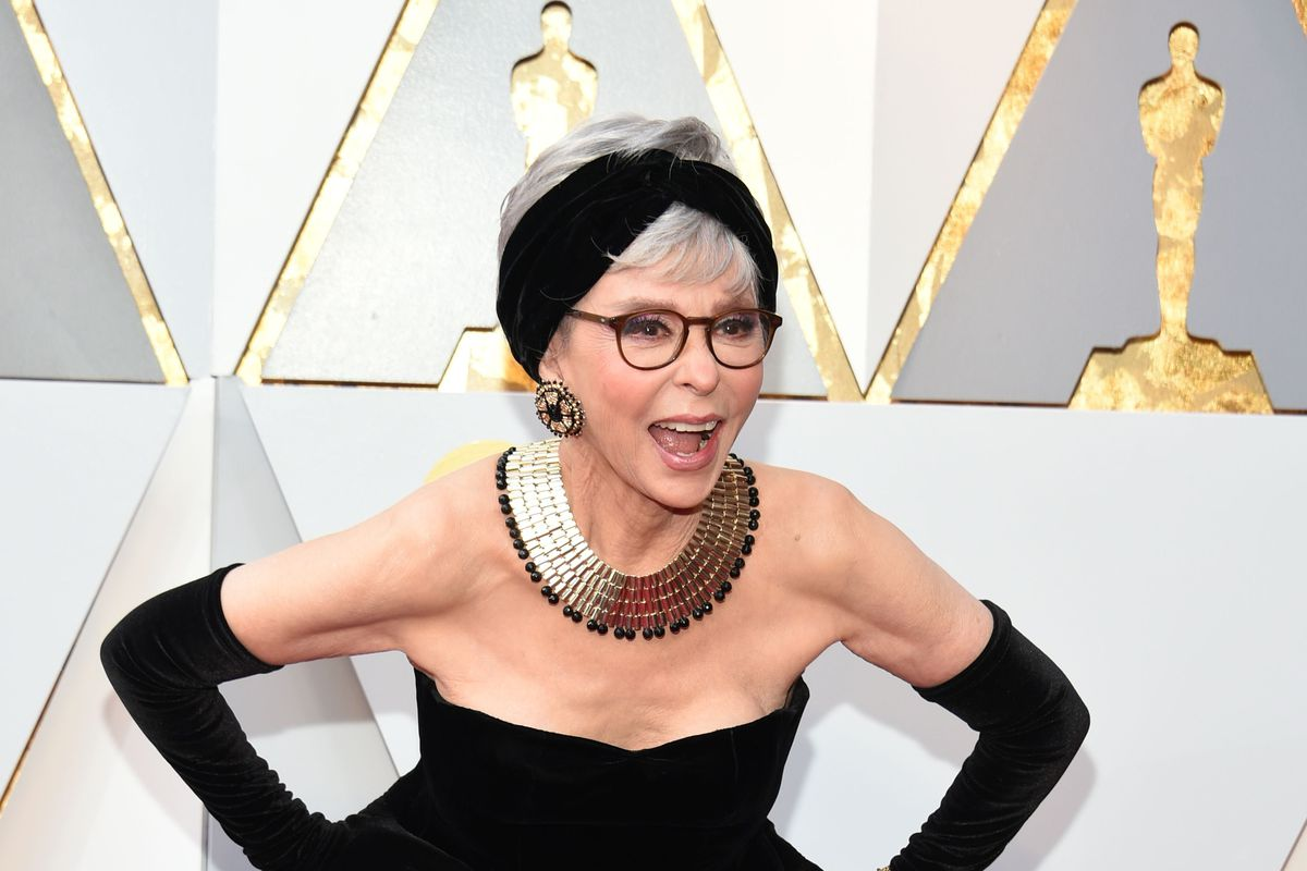 Rita Moreno Takes You Rewearing That Bridesmaids Dress and Raises You