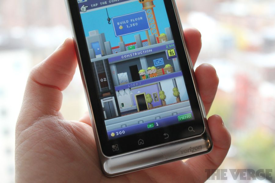 Tiny Tower hits the Android Market... for some