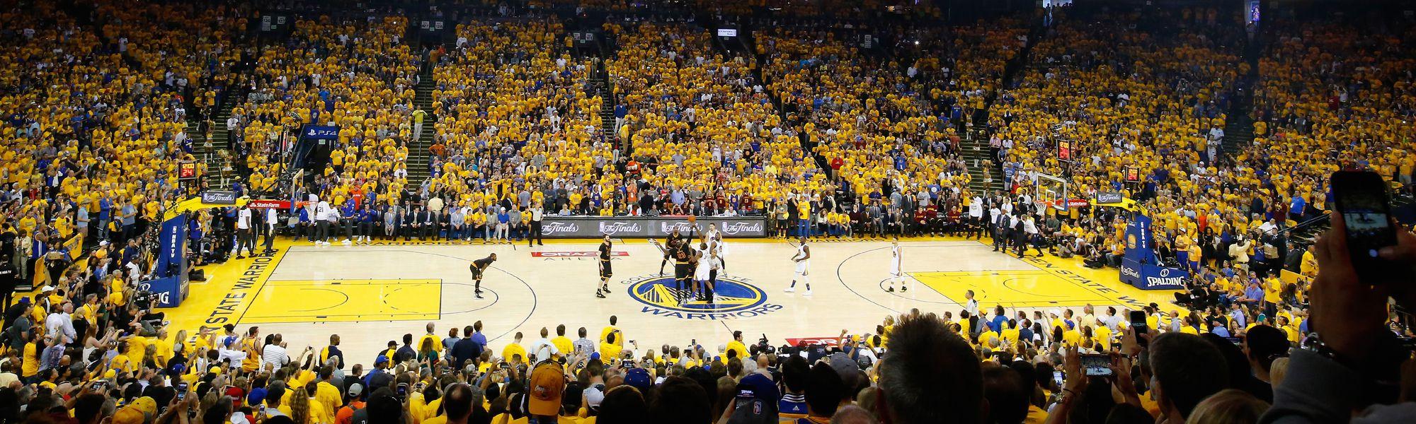 2016 NBA Finals panorama photos - Polygon