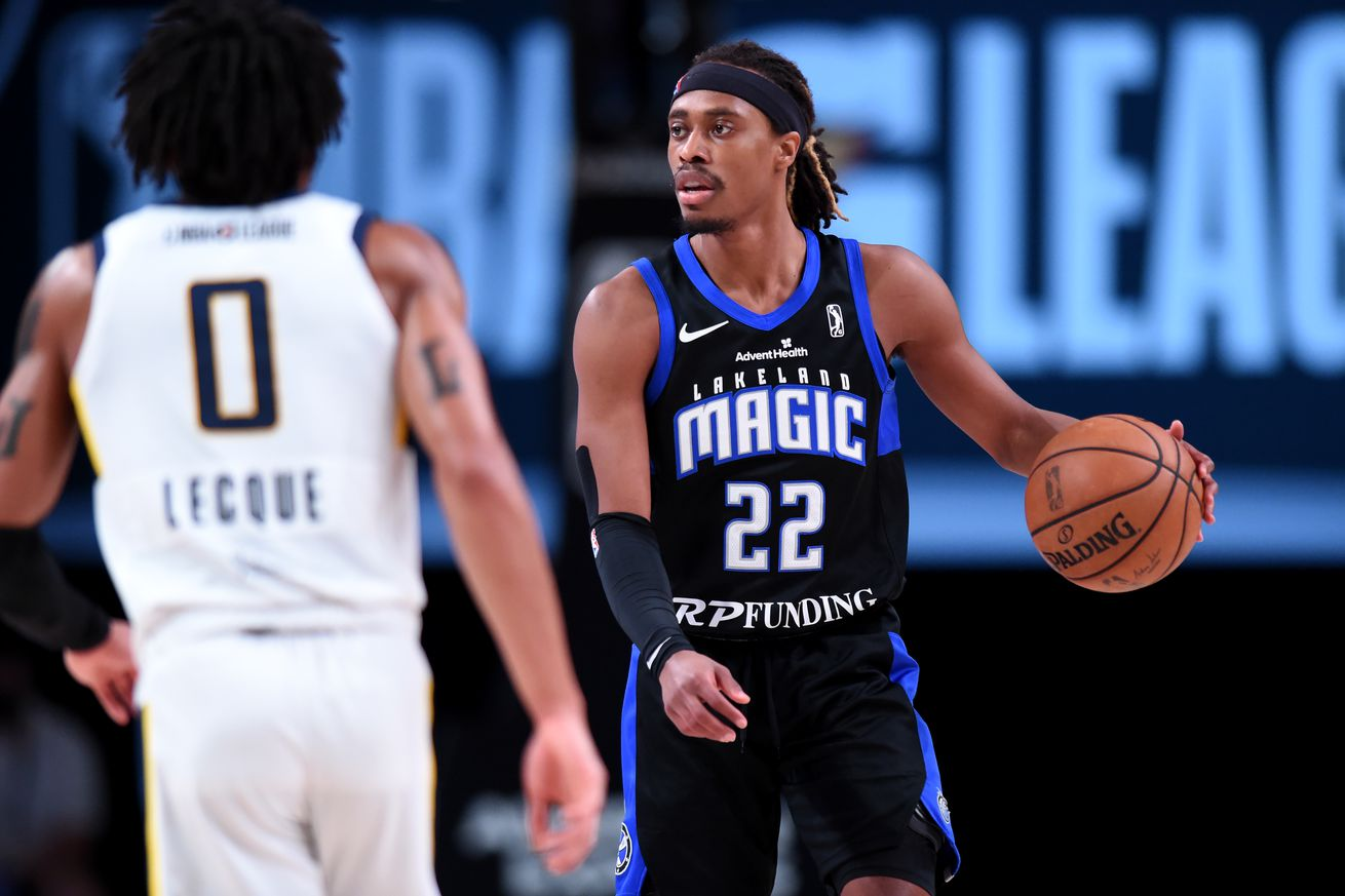 Tahjere McCall Named Ridiculous Upside's 2021 G League Defensive Player of the Year