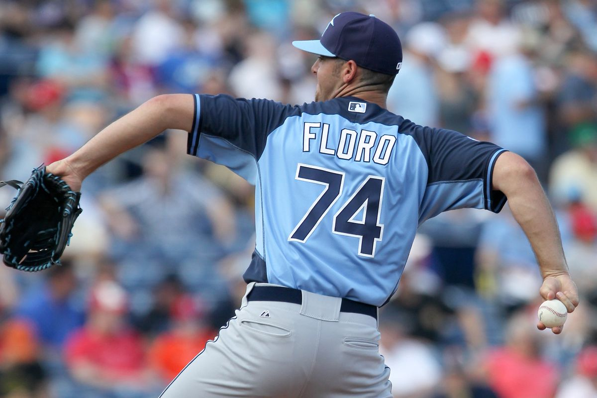 Dylan Floro has generally been effective in relief this season, but Friday was not his night