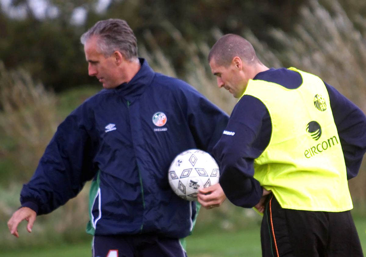 Soccer Ireland McCarthy