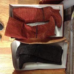 A rare boot sighting! $120 apiece, originally $655