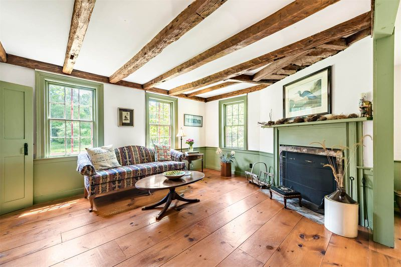 Known As The Goff Homestead Farmhouse Sits On Over 12 Acres In Historic Town Of Rehoboth Massachusetts Bristol County Amid Pastures Gardens
