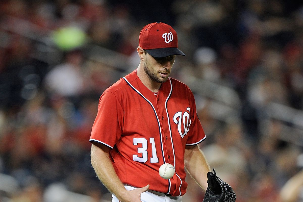 Max Scherzer Scratched from Start vs. Padres with Neck Injury