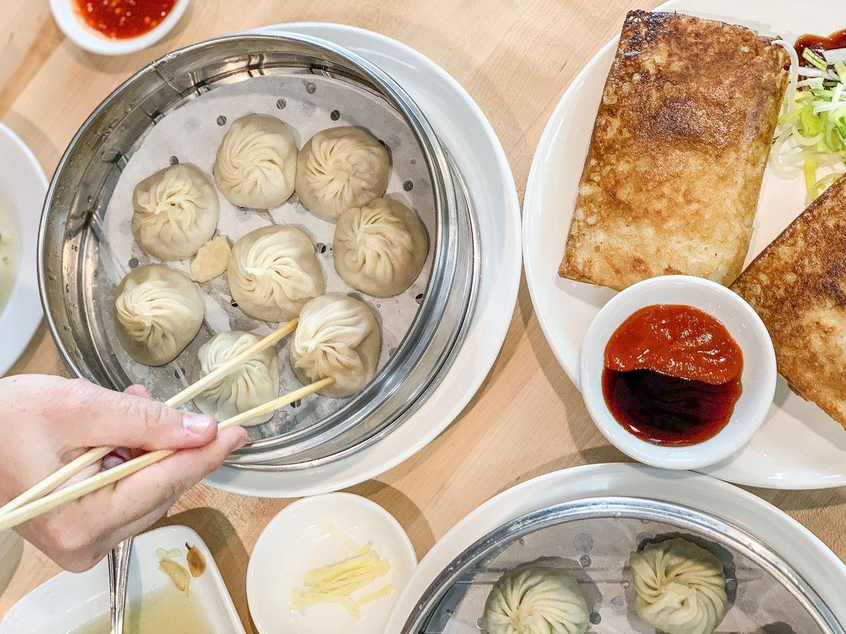 dan modern chinese dumplings in Pasadena, California