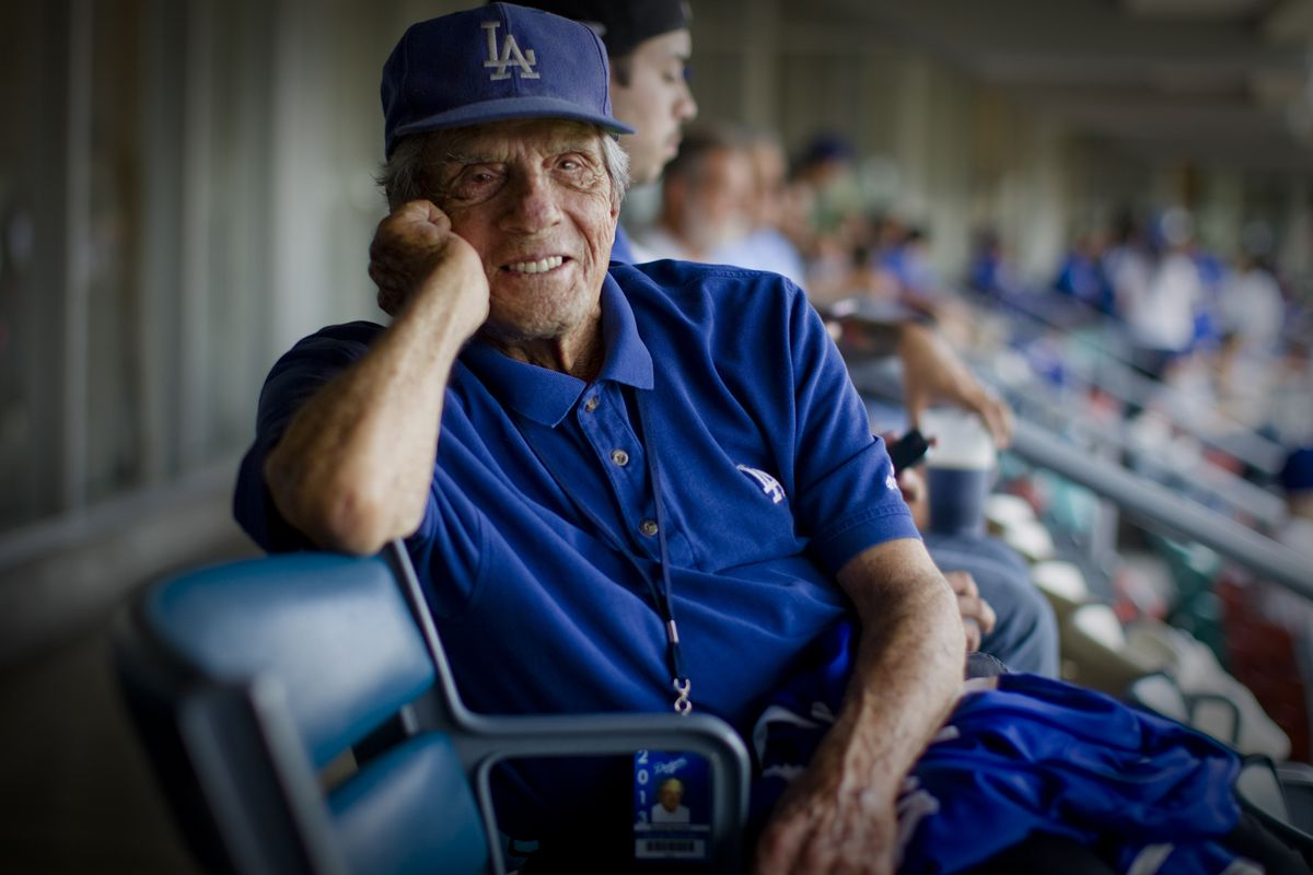 George Genovese, seen here on the club level at Dodger Stadium in 2013.
