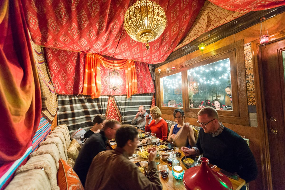 Go Inside The Bedouin Tent A New Dining Experience At Compass Rose