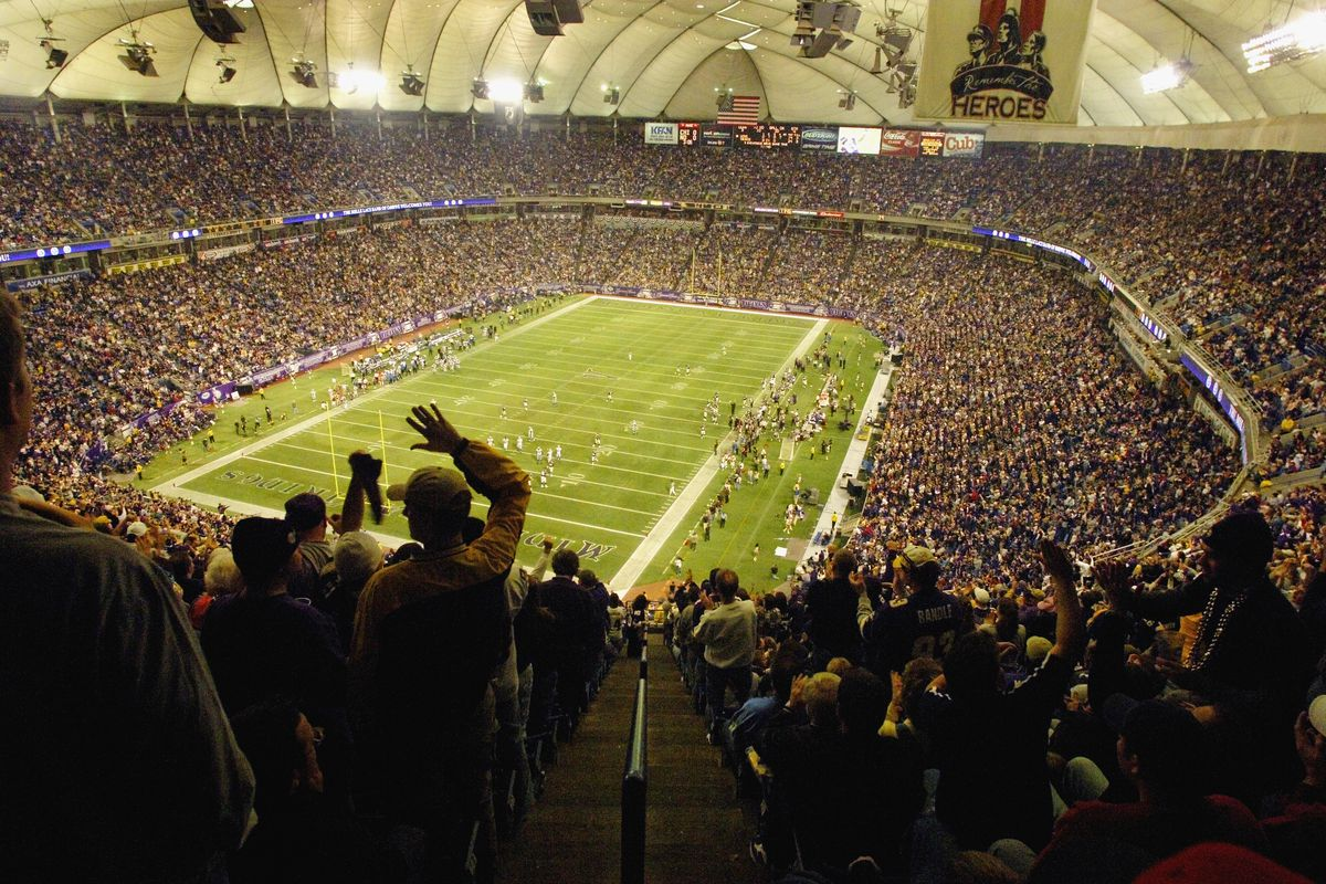 Football Fans Cheering During NFL Game