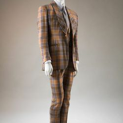 Three-piece Neo Edwardian suit, originally worn by Bunny Rogers and now in the collection of Hamish Bowles.