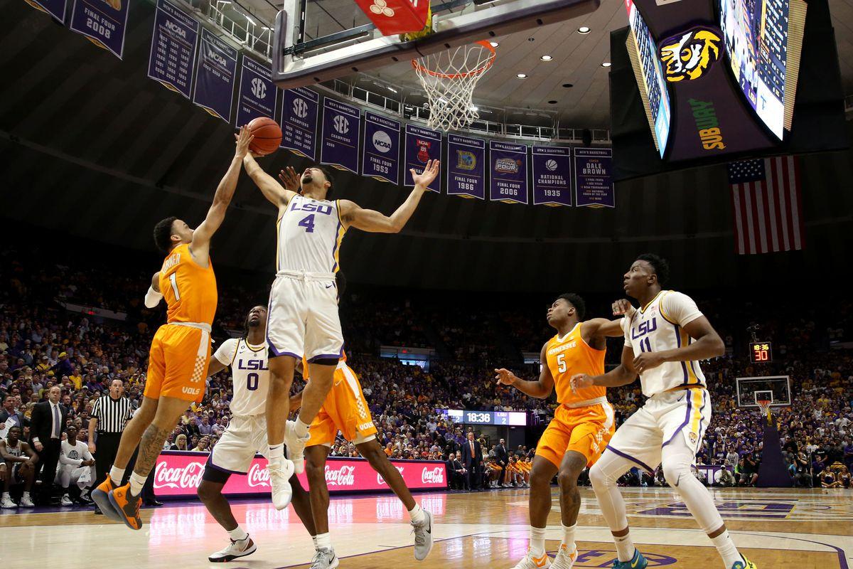 NCAA Basketball: Tennessee at Louisiana State
