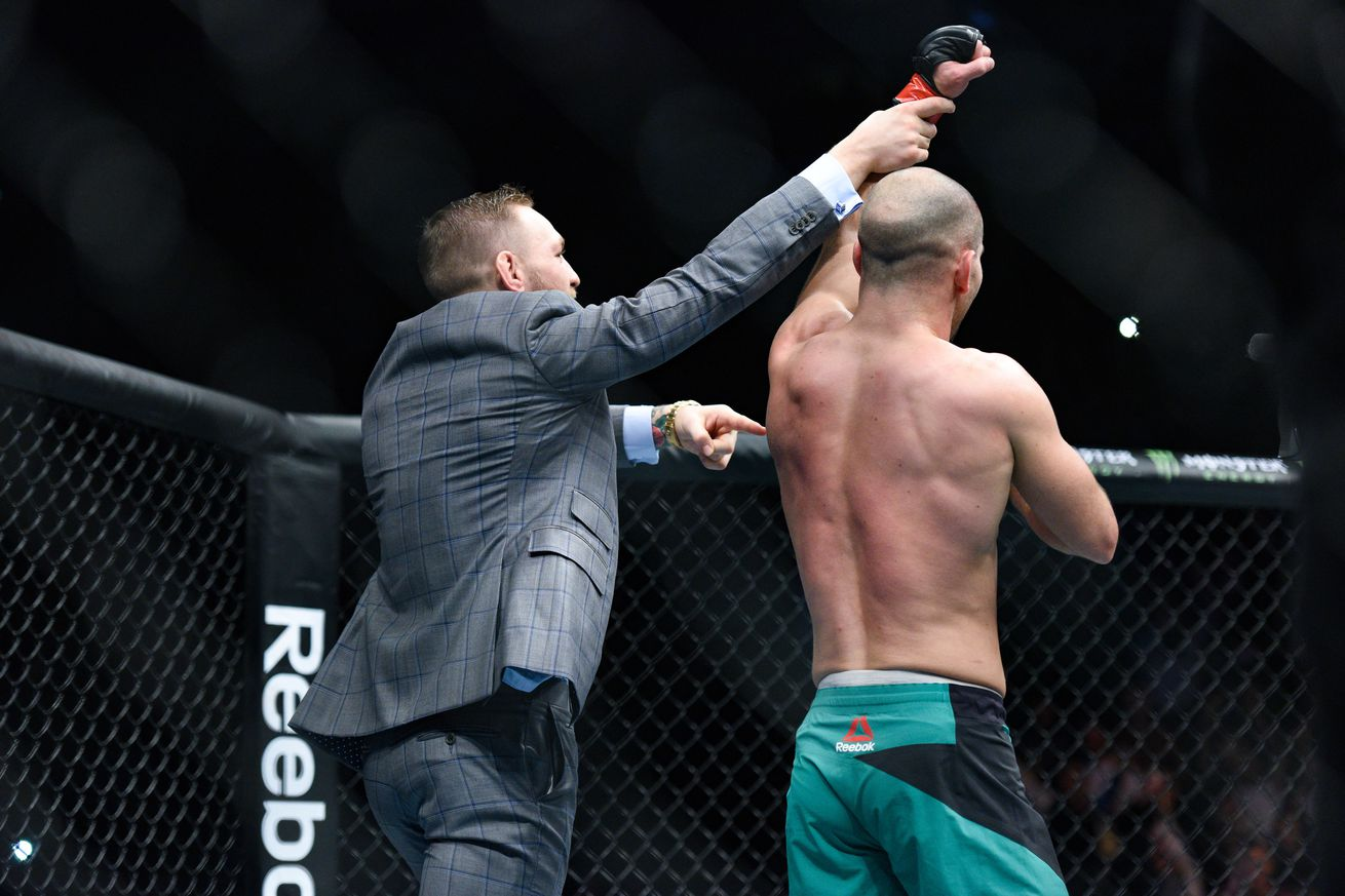 Coach reveals corner for Conor McGregor's bout against Floyd Mayweather and yes, it includes Artem Lobov
