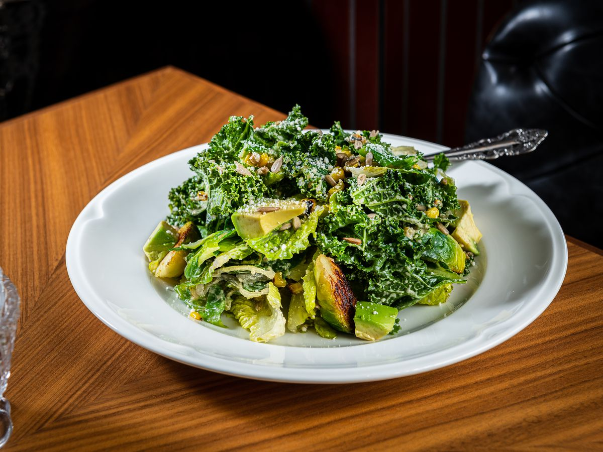 Avegan Caesar salad from Gatsby