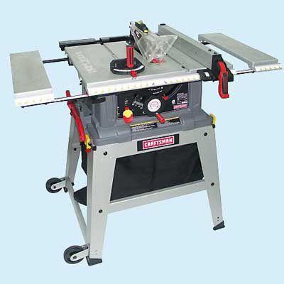 Craftsman 21807 Portable Table Saw